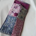 handmade patchwork glasses cover