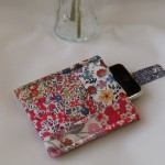 handmade patchwork mobile 'phone cover