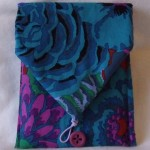 handmade patchwork Kindle cover