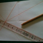 a4 paper folded lengthwise