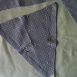 fabric bunting triangle