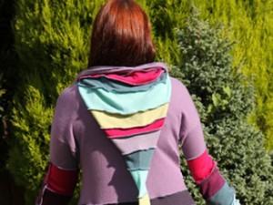 colourful pixie coat