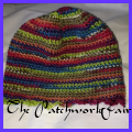 Beanie using variagated Knitcol wool