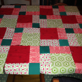 Disappearing Nine Patch Quilt top