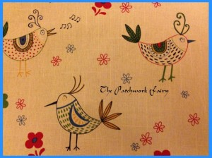 bird pattern fabric from abakhan