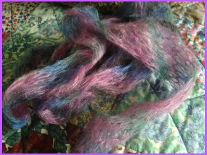 Mohair and Silk yarn