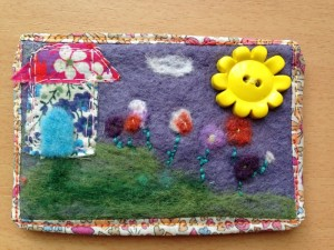 ATC for the Verry berry handmade spring swap