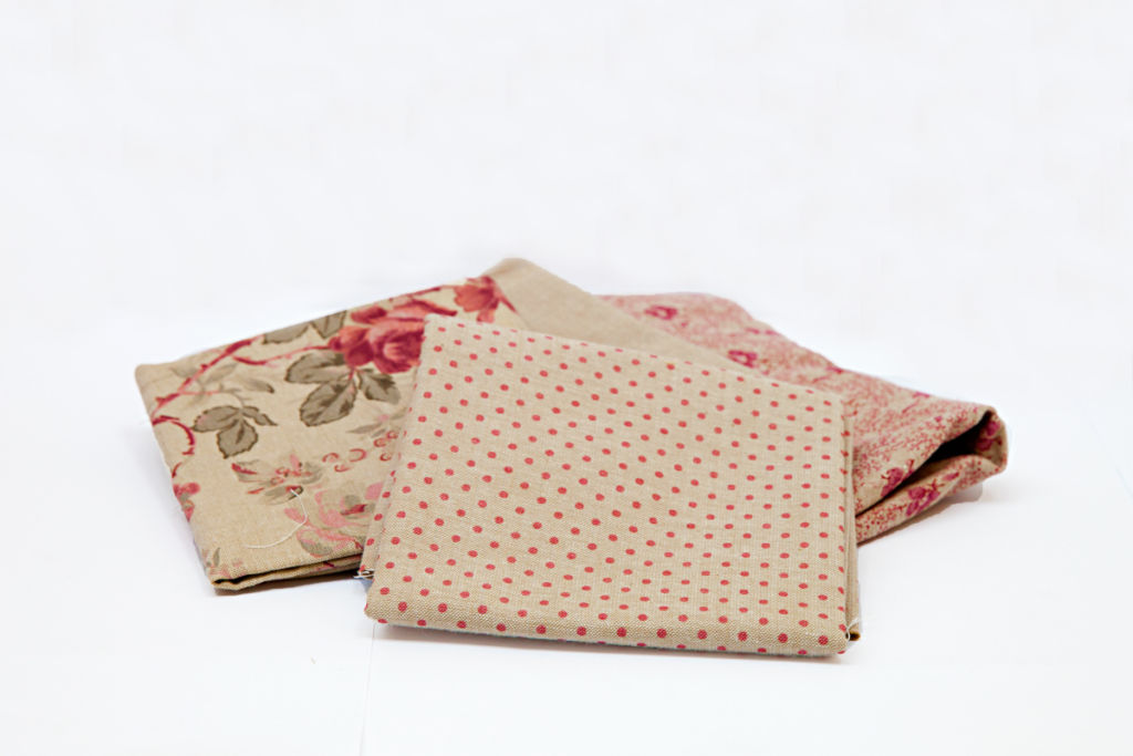 Pink Chambray fabric