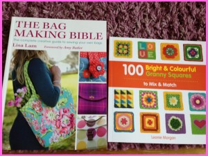crochet book and bag making book