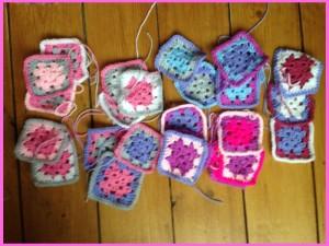 crochrt granny squares