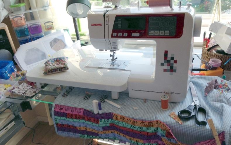 Janome TXL 607 computerised sewing machine
