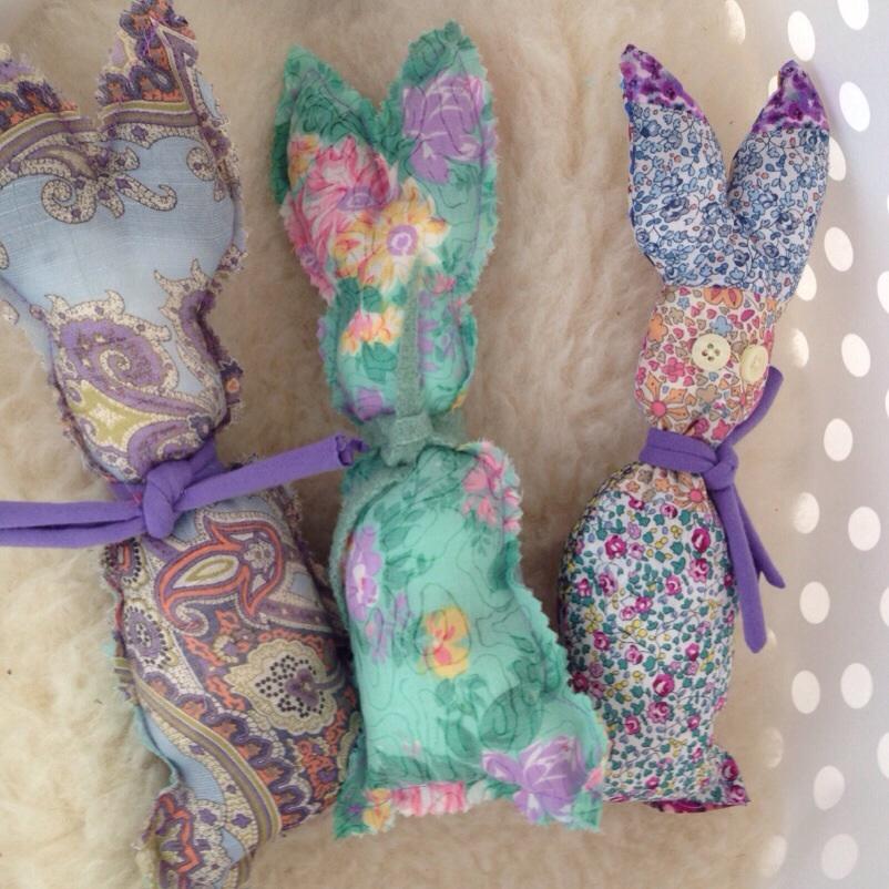 fabric-bunnies