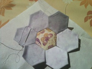 English paper piecing technique