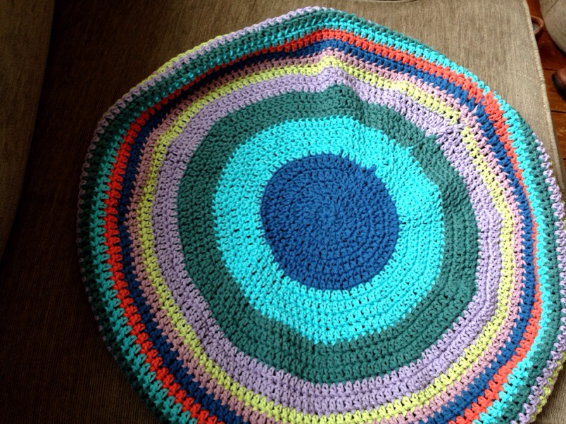 crochet bag in cotton yarn