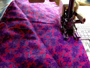 quilting purple fabric quilt