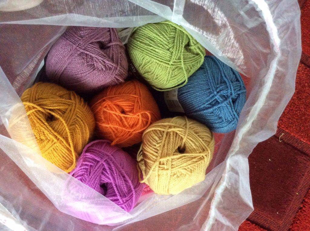 Bag of yarn
