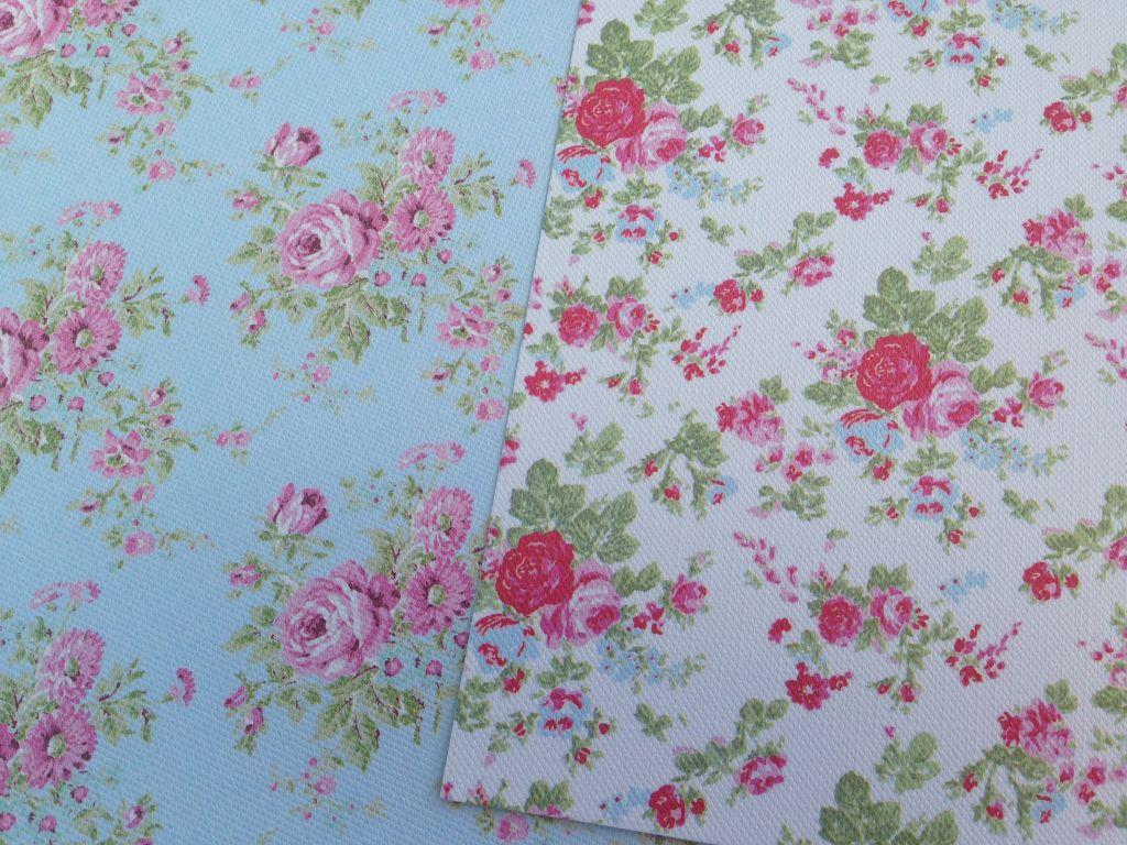 vintage-floral-textured-cardstock