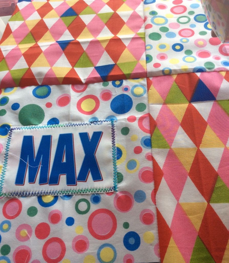 Max's quilt!