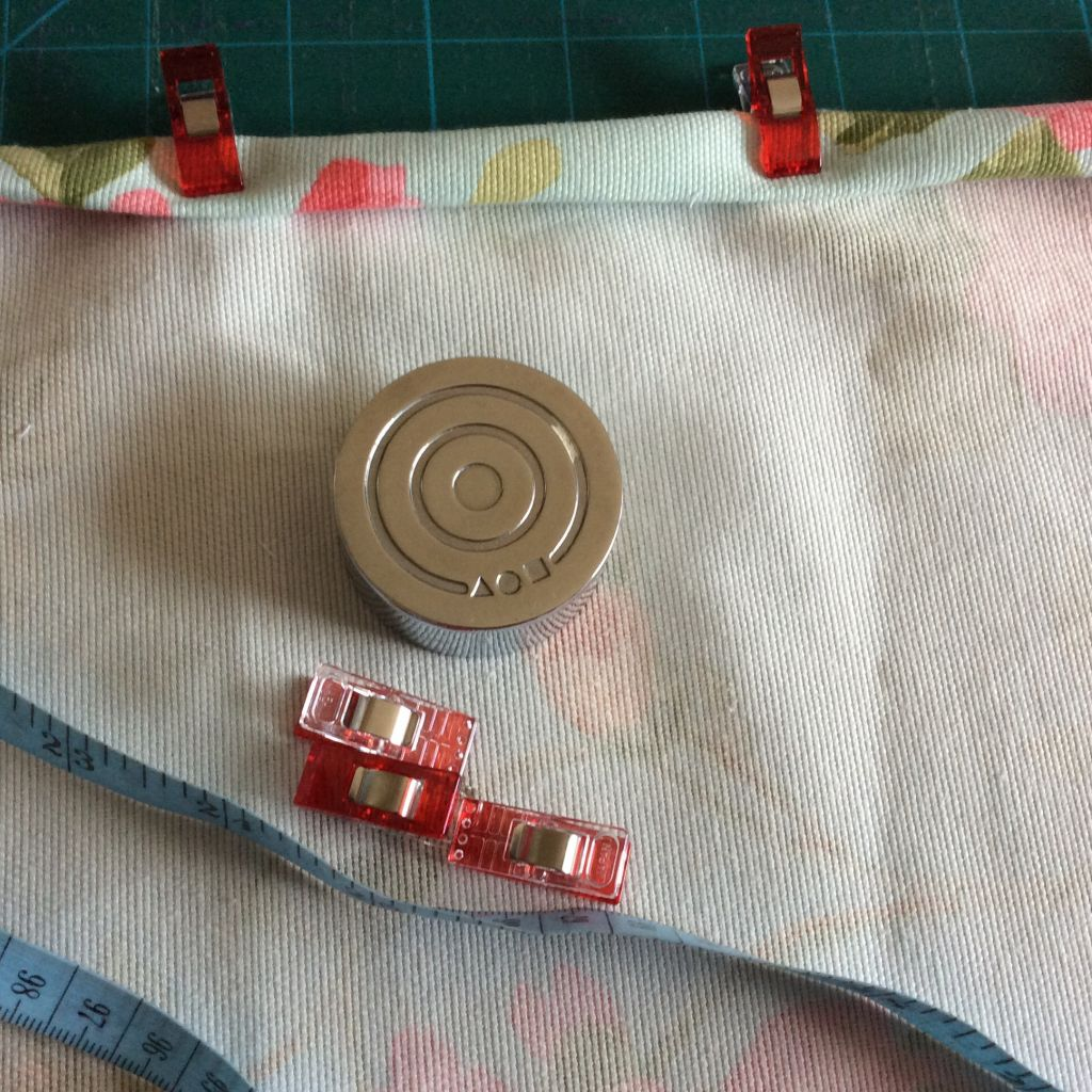 Wonder clips on fabric