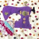 motif of sewing machine