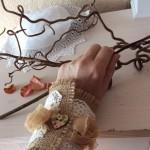 fabric arm cuffs