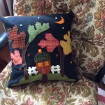 felt cushion cover