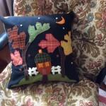 felt cushion cover