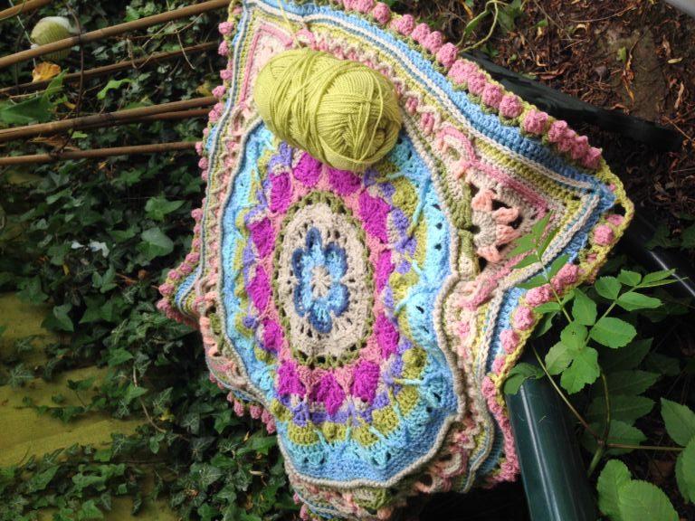 Sophie's Universe Crochet Blanket