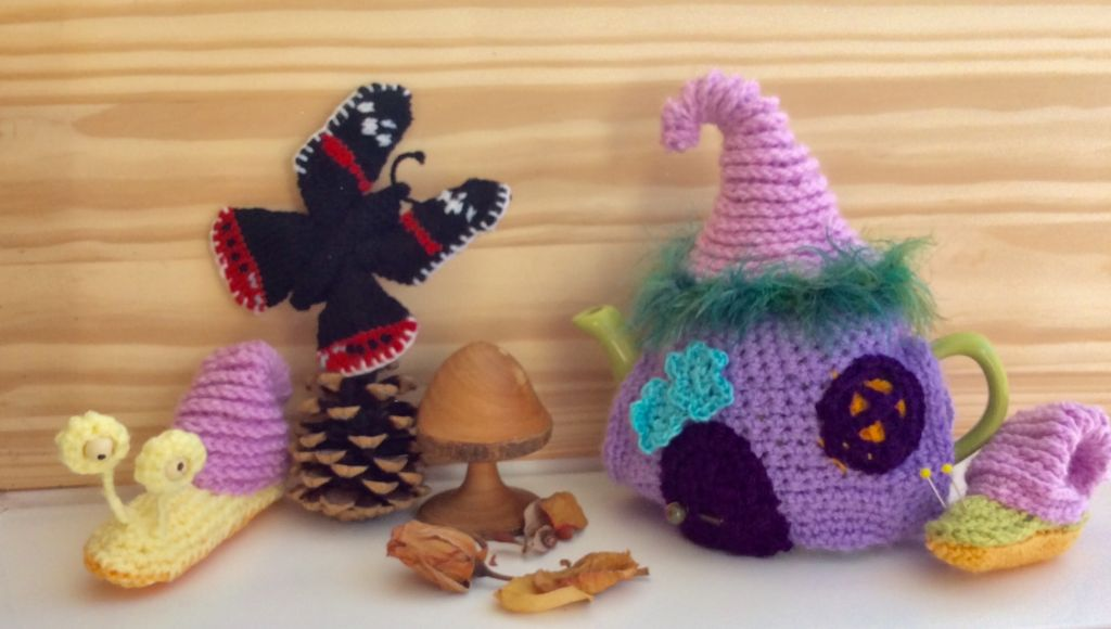 Crochet and knitted creatures