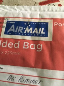 Air mail packet