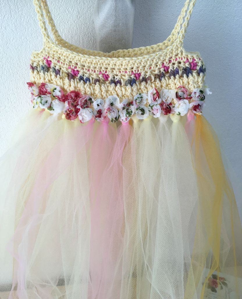 Lemon yellow fairy dress